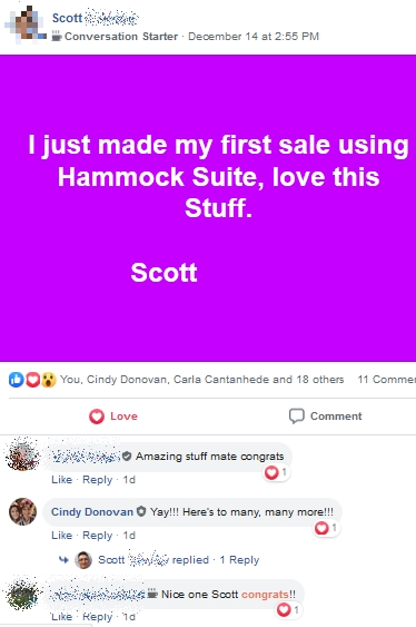 Hammock Suite - Scott selling