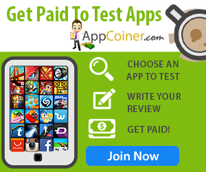 Get paid to test apps with Appcoiner